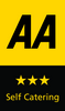 AA 3 Stars Self Catering